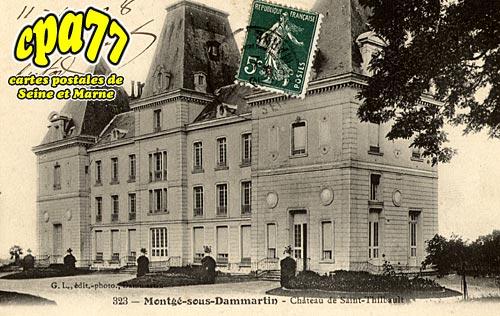 Montgé En Goële - Château de saint-Thibault