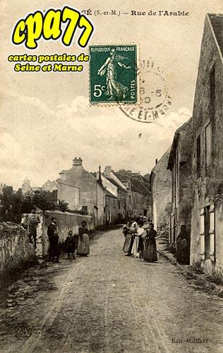 Montgé En Goële - Rue de l'Arabie