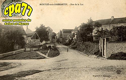 Montgé En Goële - Rue de la Loi