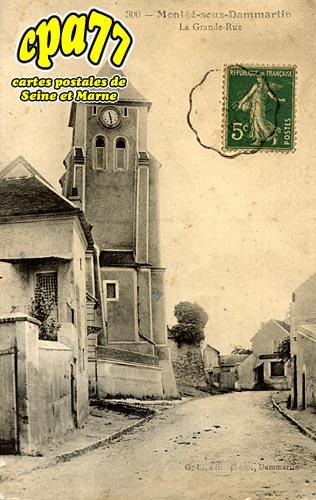 Montgé En Goële - La Grande-Rue