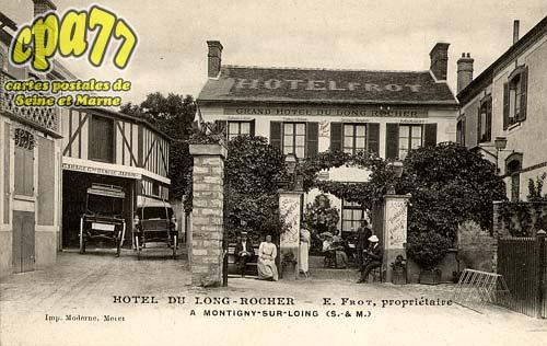 Montigny Sur Loing - Hôtel du Long-Rocher - E. Frot, propriétaire