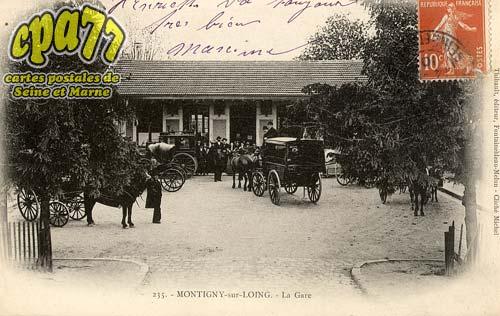Montigny Sur Loing - La Gare