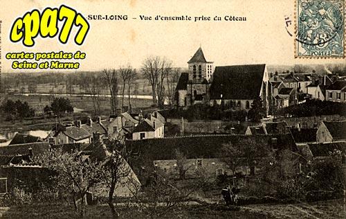 Montigny Sur Loing - Vue d'ensemble prise du Côteau