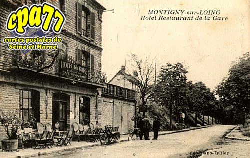 Montigny Sur Loing - Hôtel-Restaurant de la Gare