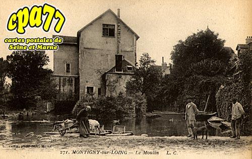 Montigny Sur Loing - Le Moulin