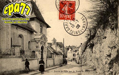 Montigny Sur Loing - Entrée de Ville par la Route de Moret