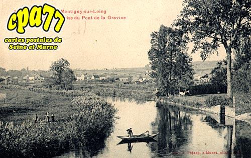 Montigny Sur Loing - Sorques - Vue générale prise du Pont de la Gravine