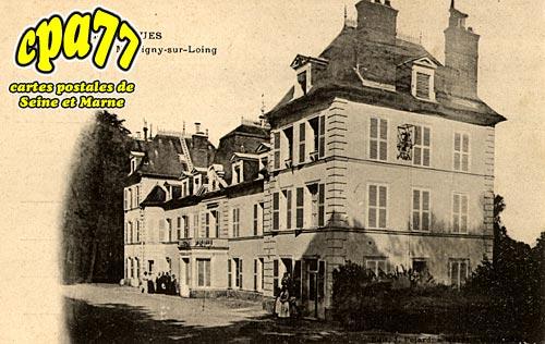 Montigny Sur Loing - Château de Sorques