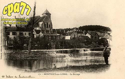 Montigny Sur Loing - Le Barrage