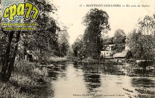 Montigny Sur Loing - Un coin de rivière