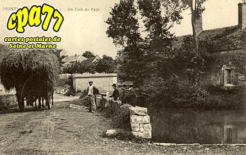 Montmachoux - Un coin du pays - La Mare