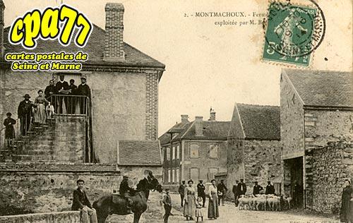 Montmachoux - La Ferme