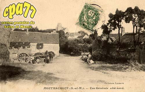Montmachoux - Vue générale côté nord