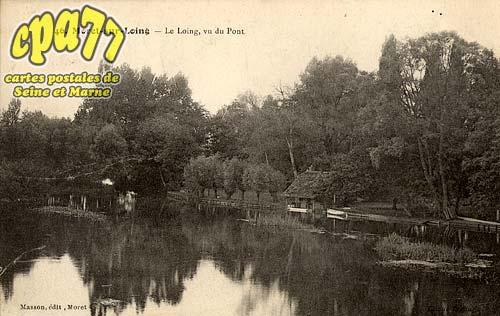 Moret Sur Loing - Le Loing, vu du Pont