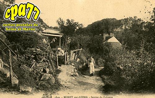 Moret Sur Loing - Sentier du Calvaire