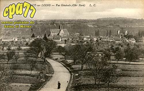 Moret Sur Loing - Vue générale (Côté Nord)