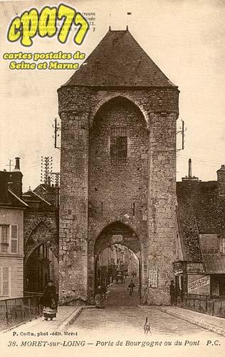 Moret Sur Loing - Porte de Bourgogne ou du Pont
