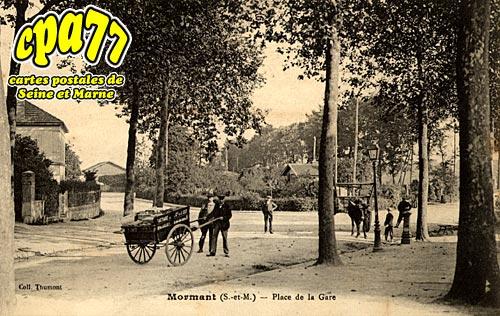 Mormant - Place de la Gare