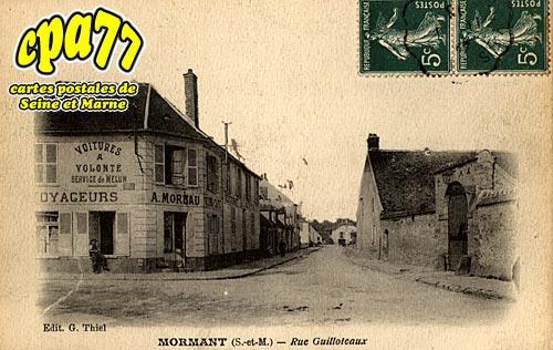 Mormant - Rue Guilloteaux