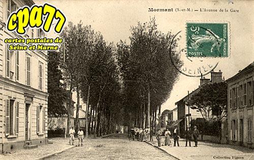 Mormant - L'Avenue de la Gare