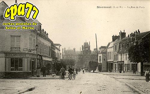 Mormant - La Rue de Paris