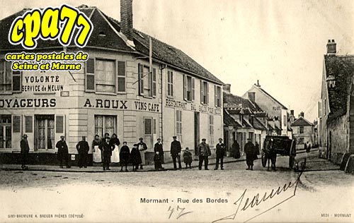 Mormant - Rue des Bordes