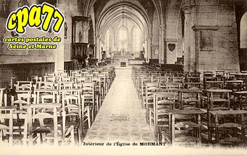 Mormant - Intérieur de l'Eglise