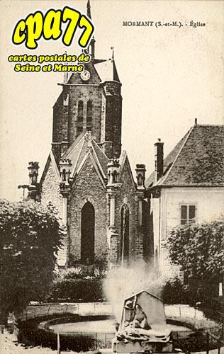 Mormant - Eglise