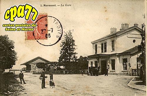Mormant - La Gare