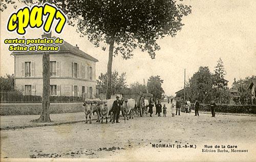 Mormant - Rue de la Gare