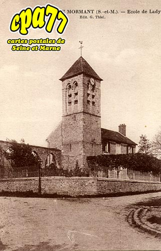 Mormant - Ecole de Lady