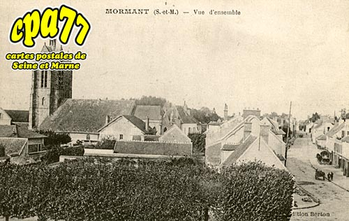 Mormant - Vue d'ensemble