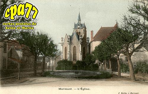 Mormant - L'Eglise
