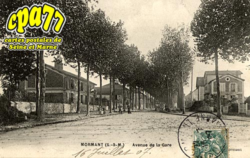 Mormant - Avenue de la Gare