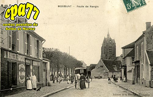 Mormant - Route de Nangis