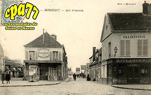 Mormant - Rue d'Ozouer