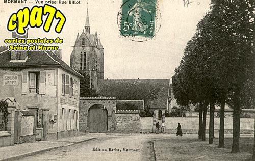 Mormant - Vue prise Rue Billot