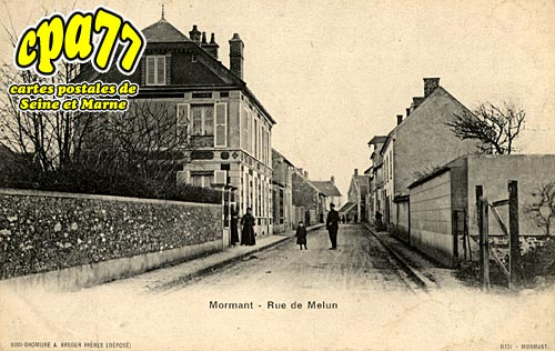 Mormant - Rue de Melun