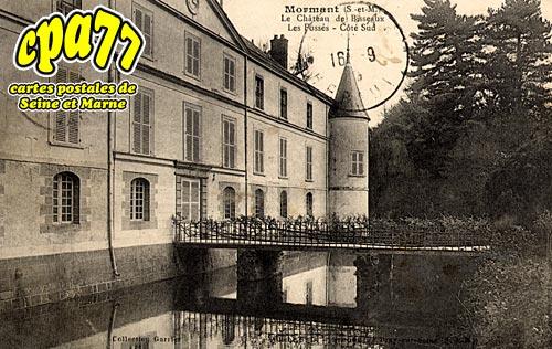 Mormant - Le Château de Bisseaux - Les Fossés - Côté Sud
