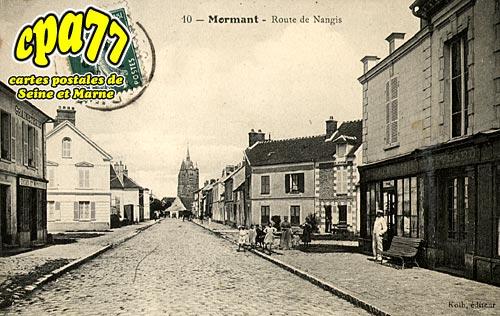 Mormant - Route de Nangis