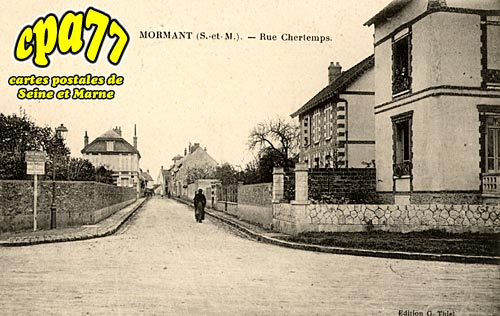 Mormant - Rue Chertemps