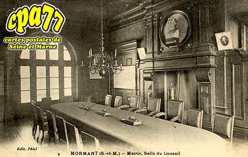 Mormant - Mairie, Salle du Conseil