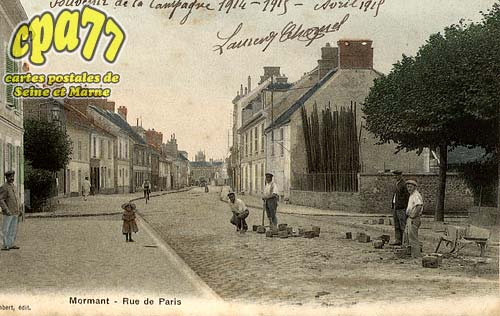 Mormant - Rue de Paris