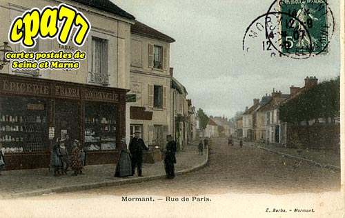 Mormant - Rue de Paris