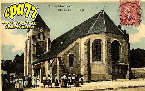 Mortcerf - L'Eglise (XVIIIe siècle)