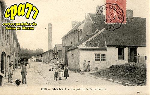 Mortcerf - Rue principale de la Tuilerie