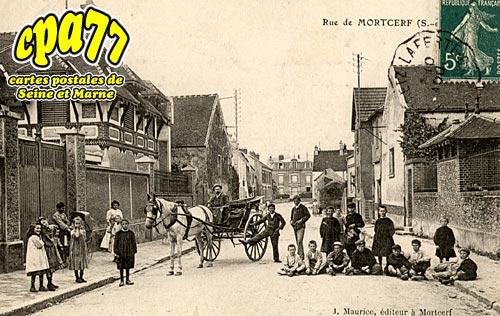 Mortcerf - Rue de Morcerf