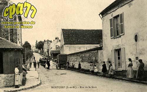 Mortcerf - Rue de la Gare