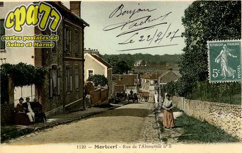 Mortcerf - Rue de l'Abreuvoir n°5