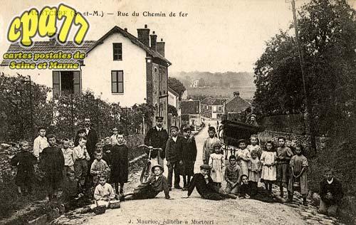 Mortcerf - Rue du Chemin de Fer